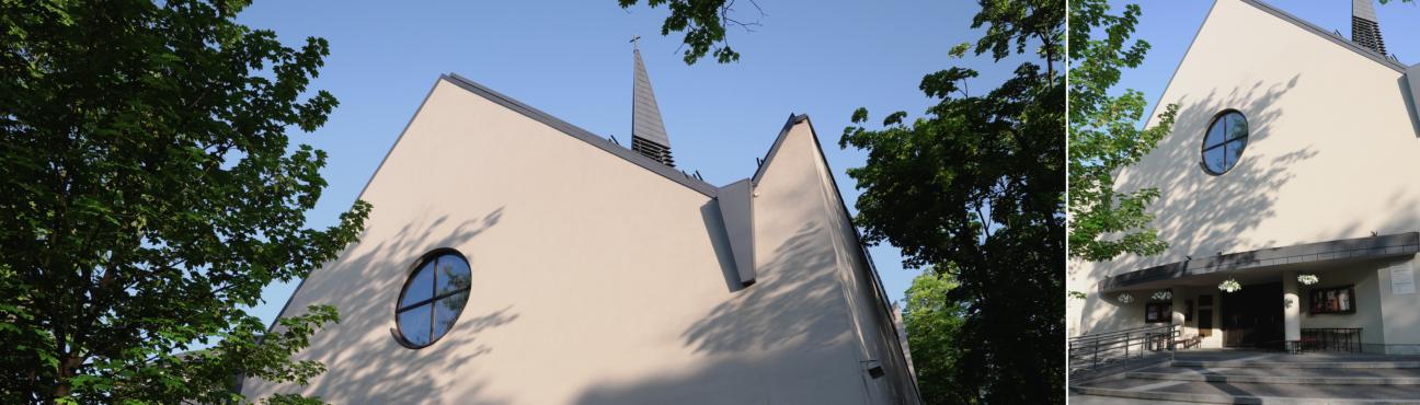 Kościół wiosną